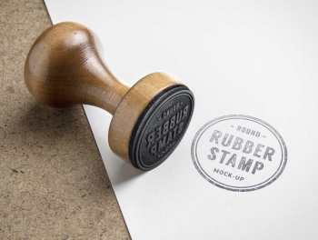 Normal Wooden Stamp
